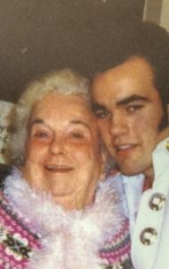 Grandma Iva and I, Circa 2005